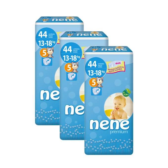 Caja de 3 paquetes de pañales nene Talla 5