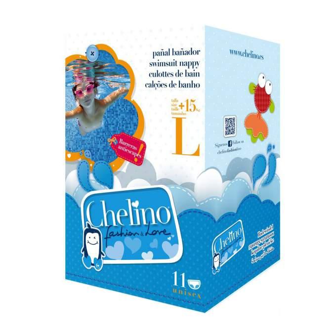 Paquete pañal bañador Chelino Talla L