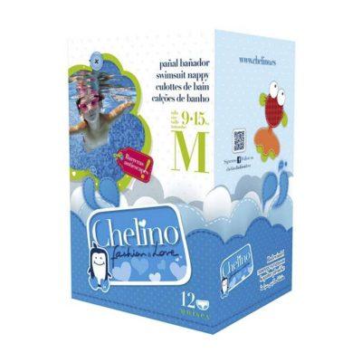 Paquete pañal bañador Chelino Talla M