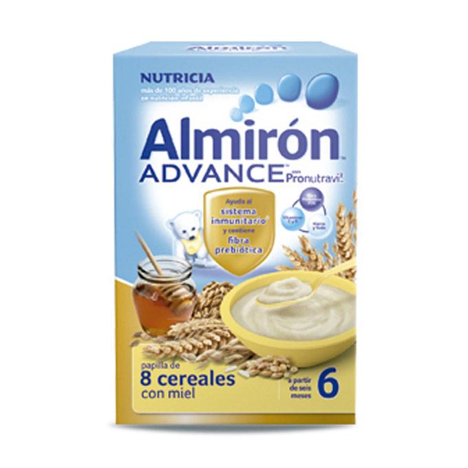Papilla 8 cereales miel BIB 600 g. Almiron Advance