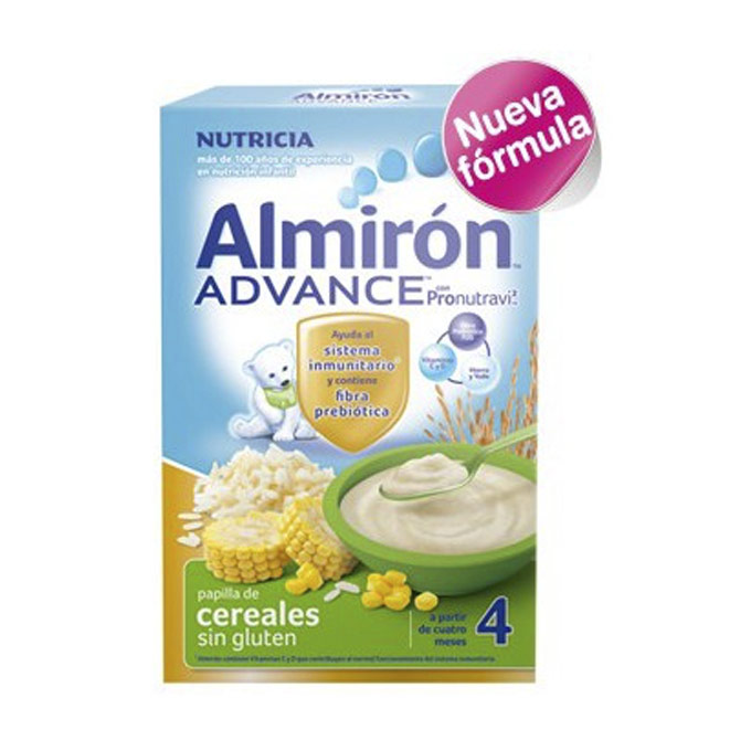 Papilla cereal sin gluten BIB 600 g. Almiron Advance