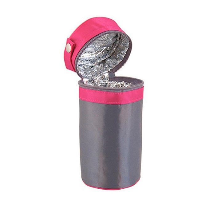 Funda térmica biberón rosa