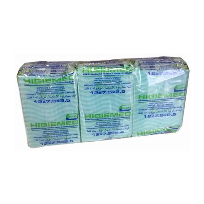 Pack de 6 esponjas jabonosas higiemed