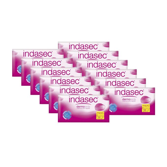 indasec micro paquete de 336 uds. 12 paquetes