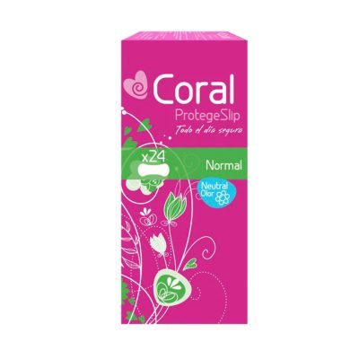 protege slip coral normal 24 uds.