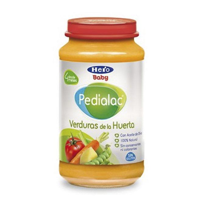 Tarrito verduras variadas de la huerta 250 g. Hero baby Pedialac