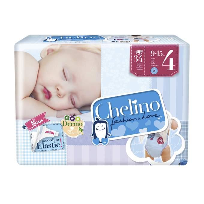 Paquete pañal Chelino Talla 4