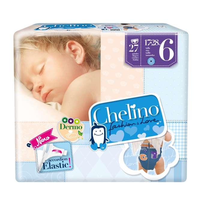 Paquete pañal Chelino Talla 6