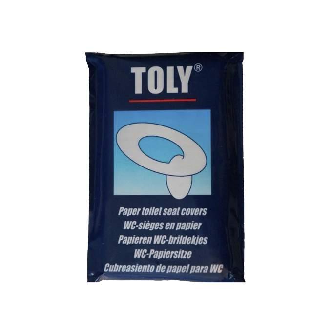 Cubreasiento de papel para WC Toly