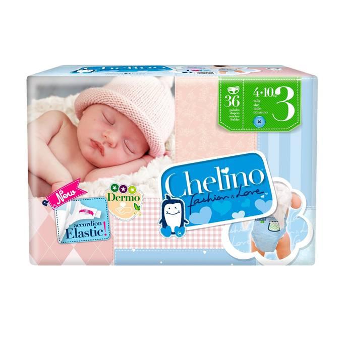 Paquete pañal Chelino Talla 3