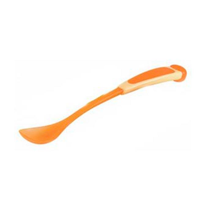 Cuchara especial potitos naranja