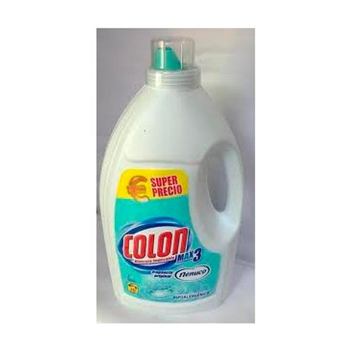 Detergente colon nenuco 3 lavados