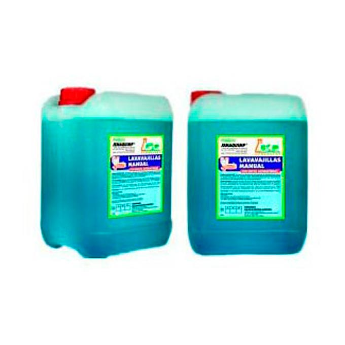 lavavajillas manual concentrado antibacterias garrafa 5 Kg.