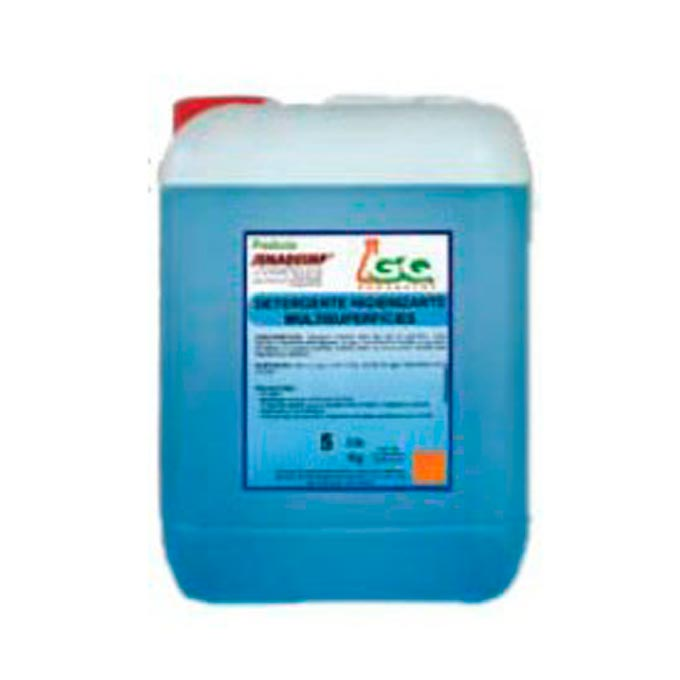 Limpiador higienizante multisuperficies garrafa 5 Kg.