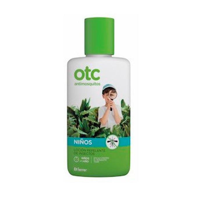 Loción repelente antimosquitos niños Otc