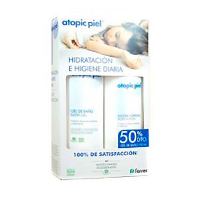 Pack loción corporal 500 ml. gel de baño 750 ml. atopic piel Ferrer