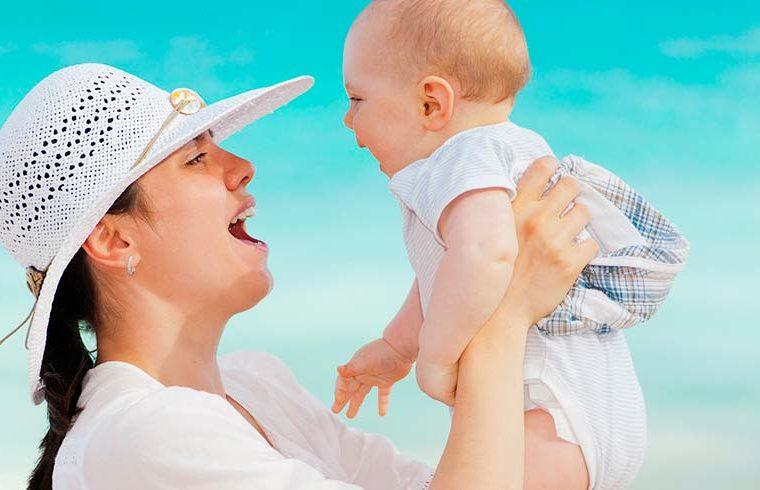 Estimular los sentidos del bebé