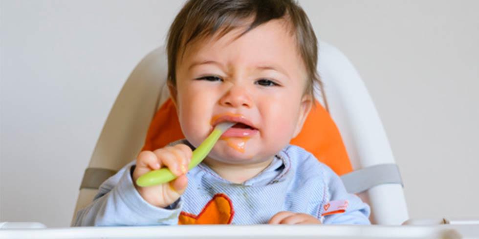 Que hacer si tu bebé rechaza la papilla