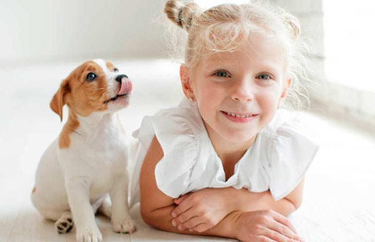 ¿Es buena la convivencia entre animales y los niños?